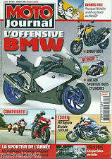 Moto journal # 1821 BMW F 800 600 MV Agusta 1078 GSX Michelin Goy Batman Batpod