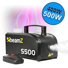 BEAMZ Remote Smoke Mist Fog Effect Machine Disco Party DJ Stage 500w Fluid