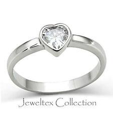 Cubic Zirconia White Gold Engagement & Wedding Ring Sets