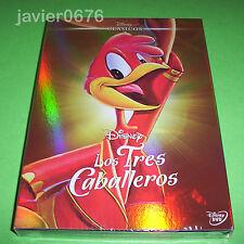 LOS TRES CABALLEROS CLASICO DISNEY NUMERO 7 - DVD NUEVO Y PRECINTADO SLIPCOVER