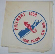 Suffolk Co Council (NY) 1959 Philmont Contingent Neckerchief  BSA