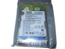 "WESTERN DIGITAL 750GB SATA 2.5"" LAPTOP HARD DISK DRIVE HDD WD7500BPVT"
