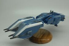 Girty Lue Class Gundam SEED Battleship Kiln Dry Wood Model Small New