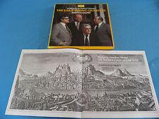 Mozart - Early String Quartets 1-13 / Amadeus Quartet / DGG STEREO 4xLP BOX