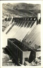 Grand Coulee Dam WA Power House Ellis Real Photo Postcard