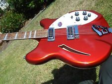 2014 Rickenbacker 360 12 String Ruby Candy Apple Red Electric Guitar - Near MINT