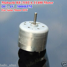 For Mabuchi RF-310TA-11400 Motor DC 3V 4V 3000RPM Solar Mini Motor for DIY Parts