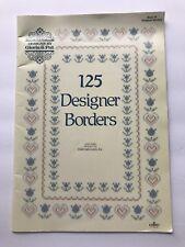 125 Designer Borders Designs by Gloria & Pat Cross Stitch Craft Book 64