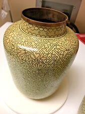 Antique Chinese Cloisonne Vases No Lids