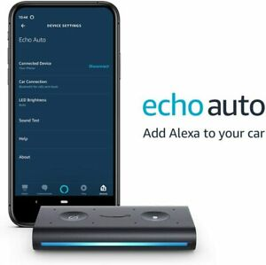 Amazon Echo Auto- Hands-free Alexa in your car with your phone