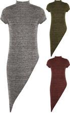 Maglie e camicie da donna a manica lunga asimmetrici party