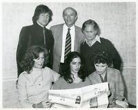 ANGELA CARTWRIGHT SUSAN CLARK MARSHA MASON ORIGINAL 1976 PRESS PHOTO