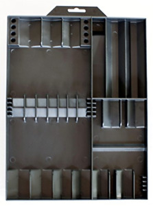 Tool Sorter Screwdriver Organizer Black