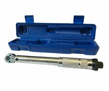 "1/4"" Low Range Torque Wrench 5nm - 25nm Micrometer Adjustment Forward / Reverse"