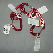 5 Omega Pacific Doval Wiregate Carabiners, climbing trad alpine small and light