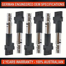 6 x Ignition Coil Volkswagen EOS VW Golf 3.2L VW Transporter 3.2L Touareg Passat