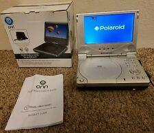 Portable DVD Player Kit Swivel Display Bult-in Stereo Speakers USB Port 7 Inch