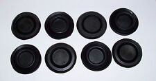65-68 Mustang 8 pcs Floor Pan Rubber Seat Access Hole Plug Kit w/Ford Part #s