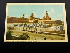 Vintage Lakeshore Gold Mine, Kirkland Lake, Ontario, Canada unused P25