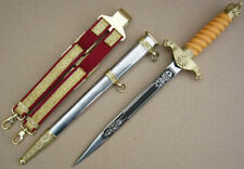Perfect Bulgarian Infantry Officer Parade Dagger Set 2003, dirk, blade, knife