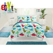 Mainstays Kids Dino Roar Bed In A Bag Bedding Set Boys Comforter Dinosaur Twin
