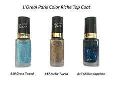 L´Oreal Nagellack Nail Polish Color Riche Top Coat NEU loreal *Farbauswahl*