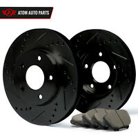 (Front) Rotors w/Ceramic Pads Elite Brakes (98 99 00 01 02 Accord | CL)