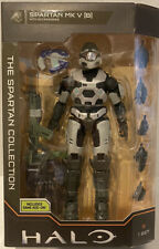 Wicked Cool Toys HALO THE SPARTAN COLLECTION Mark V [ B ] Includes Game Add-On