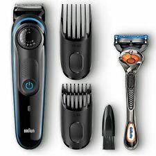Braun BT3040 Men's Beard Trimmer Shaver with Free Gillette Fusion ProGlide Razor