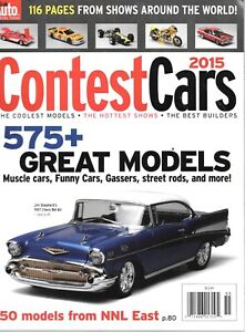 Scale Auto Contest Annual 2015 Muscle Cars Funny Cars Street Rods Gassers & More