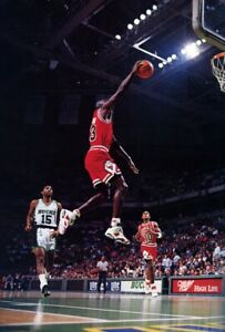 Michael Jordan Nike Poster 11x17 Chicago Bulls Basketball LAST DANCE Photograph