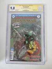 Teen Titans #12 signed Capullo & Snyder 1st Batman Who Laughs CGC 9.8 WP