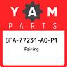 8FA-77231-A0-P1 Yamaha Fairing 8FA77231A0P1, New Genuine OEM Part