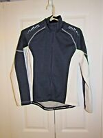 Cannondale Cycling Performance WOMANS Jacket BLUE WHITE Sz M - RN0101935