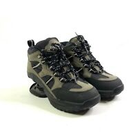 Womens Z-Coil Hiking Boots Size 7 Black Gray Pain Relief Comfort Shoes