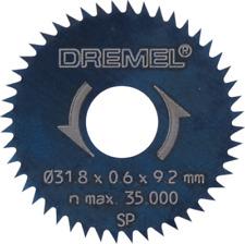 Lama Dremel 546 per rifilatura/squadratura 31,8 mm