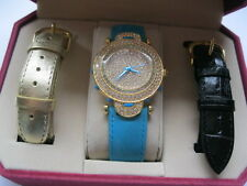 Limited Edition Couture Watch By Adrienne with 3 Bands Original Packaging