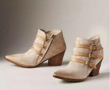 Sundance AS 98 Stanford Boots Sz 36/6 Vintage Leather Booties Cowgirl Ret $310