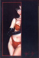 Modern Postcard: Glamour Art by Roy Leaning - Bra & Panties, Gloves, etc