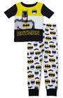 BATMAN DC COMICS Cotton Snug-Fit Pajamas Sleepwear Set Toddler's 3T 4T or 5T 20