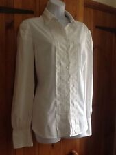 Next No Pattern Cotton Blend Long Sleeve Women's Tops & Shirts