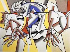 Roy Lichtenstein - Roter Reiter
