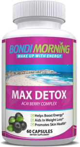 Max Detox Dietary Supplement – 100% Natural, Healthy & Safe New Formula, Pure