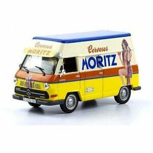 Mercedes Benz N1300 Moritz beer 1976 VAN 1:43 IXO SALVAT DIECAST TRUCK