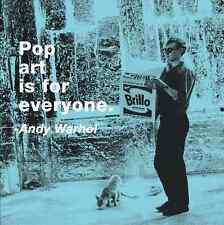 QUOTE ART PRINT - Pop art is for everyone by Andy Warhol Poster 11x14