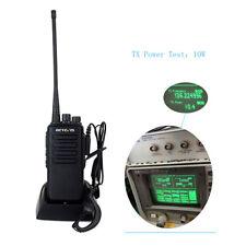 Retevis Rt1 Walkie Talkie Uhf 400-520Mhz 10W 16Ch Radio Ctcss/Dcs+Track Number
