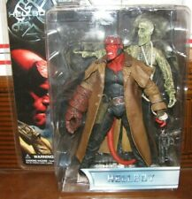 Mezco Hellboy With Ivan The Corpse (Open Mouth Variant) Long Coat Series 1