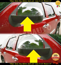 TOP HALF REPLACEMENT MIRROR CAPS FOR 07-13 GMC YUKON-YUKON-XL