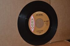 GEORGE KIRBY: NO MORE & FEELING GOOD; 1964 ARGO 5498 VG++ NORTHERN SOUL PROMO 45