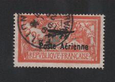 Poste Aérienne timbre de France N° 1 Merson oblitéré